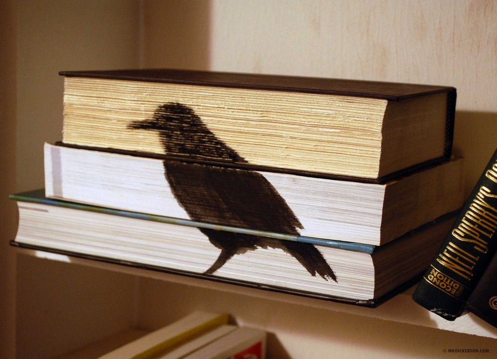 stacked-books-bird